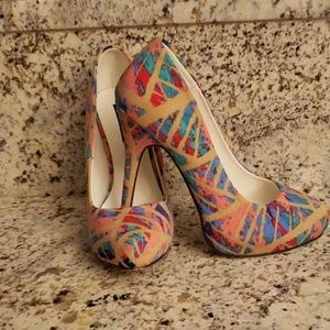 Multi-Colored Pumps